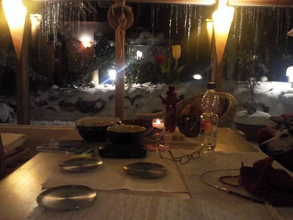 Blick aus dem Wintergarten